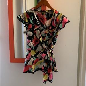 Nanette Lenore kimono style blouse size 6